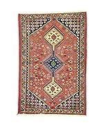 Eden Alfombra Yalameh Rojo/Multicolor 85 x 126 cm