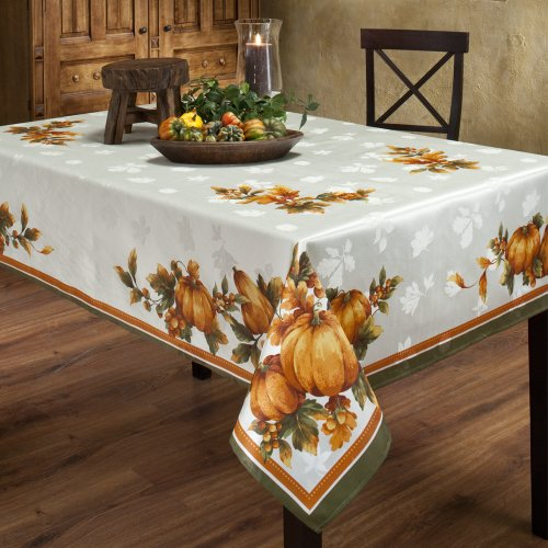 Holiday Table Linens Tablecloths Thanksgiving