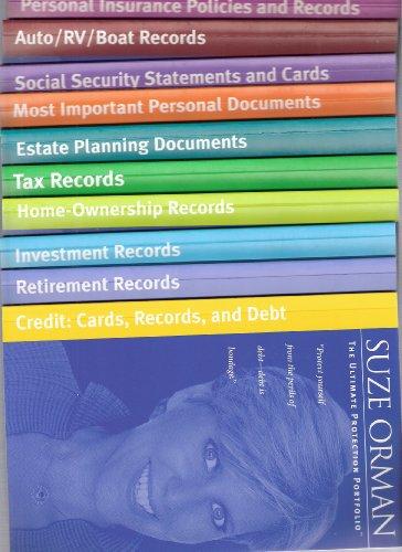 Suze Orman's The Ultimate Protection Portfolio - 10 booklets (Protection Portfolio compare prices)