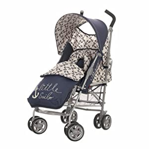 Obaby Atlas V2 Stroller & Footmuff (Little Sailor)