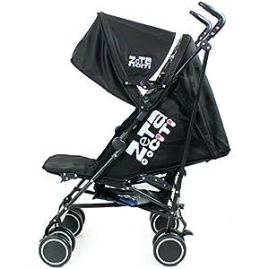 Zeta Citi Stroller Buggy Pushchair - Black from Baby Travel