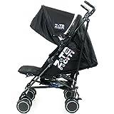 Zeta Citi Stroller Buggy Pushchair - Black