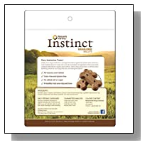 Nature's Variety Instinct Grain-Free Biscuits with Duck Meal & Sweet Potato Dog Treats, 20 oz. Bag