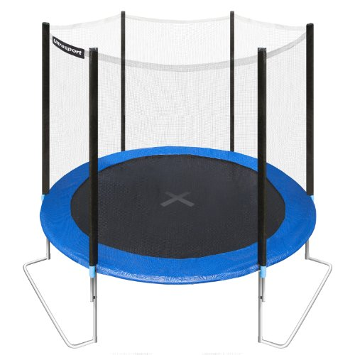 trampoline avec filet pas cher. Black Bedroom Furniture Sets. Home Design Ideas