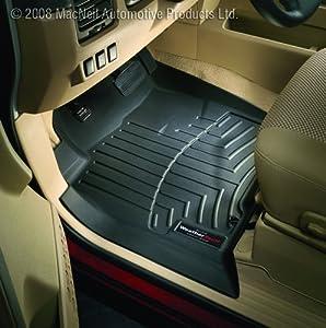 Weathertech Custom Fit Front Floorliner For Mercedes-benz C300c350c63 Black by Weathertech