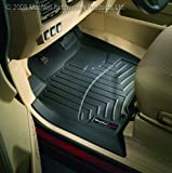 WeatherTech Custom Fit Front FloorLiner for Audi A6/S6 (Black)