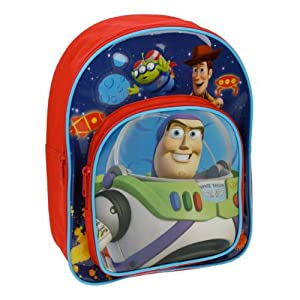 Disney Toy Story backpack with front compartment (Blue /Red)