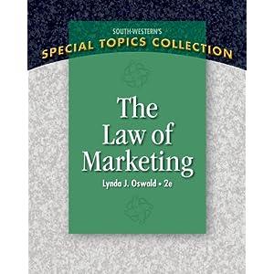 The Law of Marketing - Lynda J. Oswald