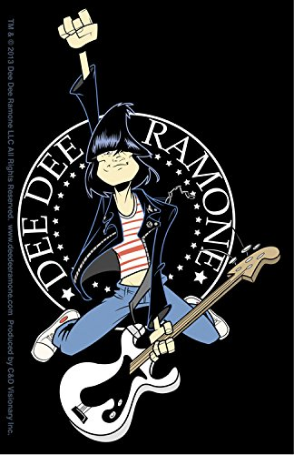 C&D Visionary Dee Dee Ramone Hop Sticker