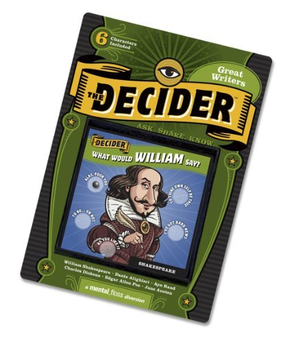 The Decider - Great Writers by VLINMARK