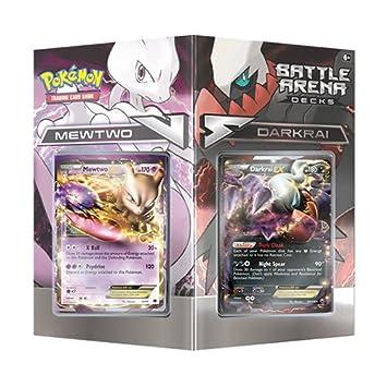 Pokémon - Jeux de Cartes - Produits Spéciaux - Battle Arena Decks : Mewtwo vs. Darkrai (En Anglais)