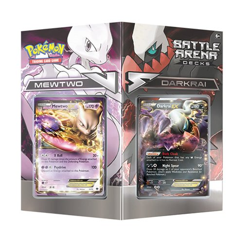 TCG Battle Arena Decks: Mewtwo vs. Darkrai Card Game (Discontinued by manufacturer) (10 Psychic Energy Pokemon compare prices)