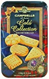 Campbells All Butter Shortbread - Gold Collection, A Delicious Selection Shortbread in Gift Tin - 867