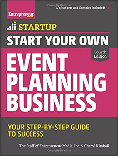Start your event planning business book