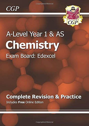 New 2015 A-Level Chemistry: Edexcel Year 1 & AS Complete Revision & Practice with Online Edition