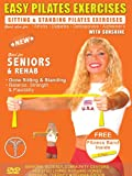 Seniors Easy Pilates Exercises & Pilates Bands Exercise DVD for Strength & Fitness ( Includes 1 Free Resistance Bands) Easy Pilates Resistance bands exercises for Seniors, Elderly, Rehab, Good also for Over weight and Obese Exercise DVD.