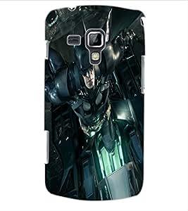 ColourCraft Superhero Design Back Case Cover for SAMSUNG GALAXY S DUOS 2 S7582