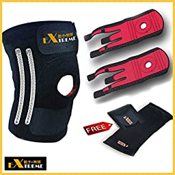 Motion Infiniti Premium Knee Braces - Relief Your Knee Pain and Improves Your Mobility Right Way with 100% Satisfaction Guarantee!