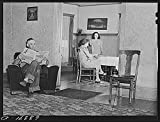 1941 Photo Russell S. Else and family, Douglas County, Wisconsin. He came to Wisconsin from drought area of Nebraska three years ago. With the aid of a FSA (Farm Security Administration) loan he has b