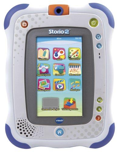 VTECH Tablette multimédia Storio 2 bleue + appareil photo intégré