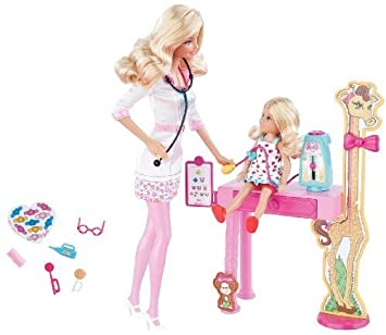 Barbie I Can Be Pediatric Doctor Playset by Mattel