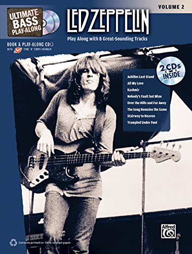 Ultimate Bass Play-Along Led Zeppelin, Vol 2: Authentic Bass Tab (Book & 2 Cds) (Ultimate Play-Along)