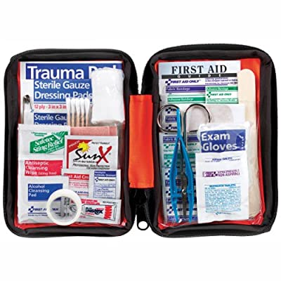 Ready America 74002 First Aid Outdoor Kit, 107 piece. from Ready America