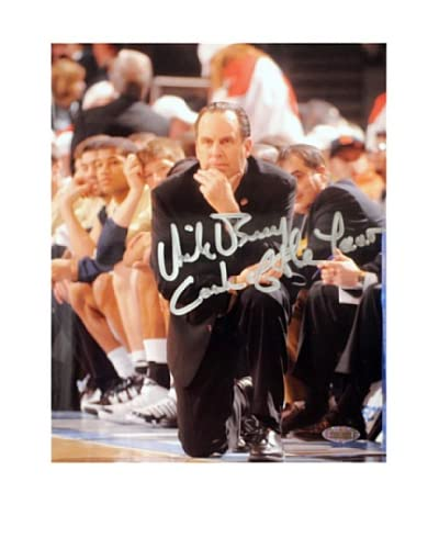 "Steiner Sports Memorabilia Mike Brey On The Sidelines ""Coach of the Year"" 2011 Signed Phot..."