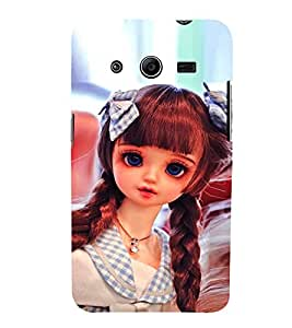 Cute Baby Doll 3D Hard Polycarbonate Designer Back Case Cover for Samsung Galaxy Core 2 G355H :: Samsung Galaxy Core II :: Samsung Galaxy Core 2 Dual