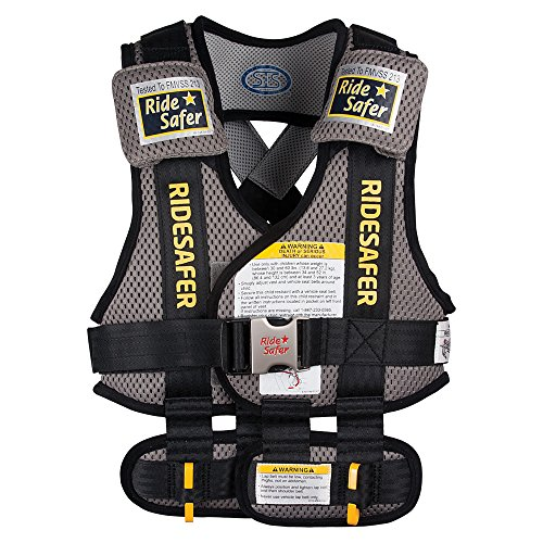 RideSafer-Type-3-GEN3-Travel-Vest-GrayBlack-Large