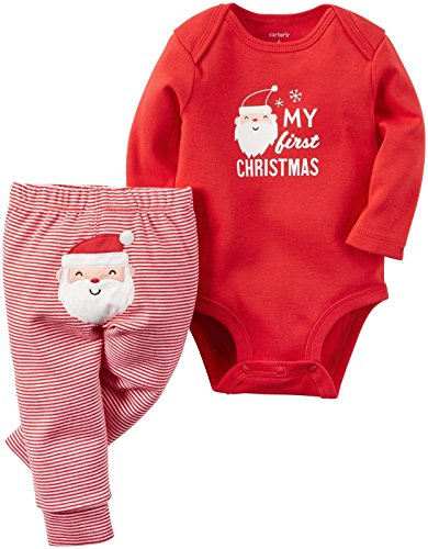 Carter's Baby 2-Piece Bodysuit and Pant Set,