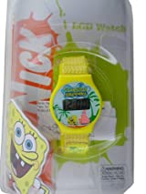 Nick Jr Spongebob Watch - Kids Size Spongebob Watch