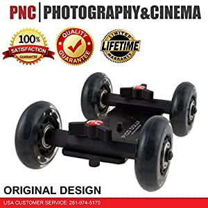 "Pico Flex Dolly ""Only"" Digital DSLR Skater Camera Dolly Slider Table Top Dolly By Photography and Cinema"