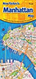 img - for New Yorker's Manhattan Map book / textbook / text book