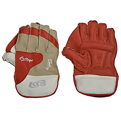 KKS College Youth's Foam Wk Gloves Full (White & Beige)