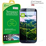 JETech� Premium Tempered Glass Screen Protector Retail Packaging for Samsung Galaxy S4 Galaxy S IV Galaxy SIV i9500