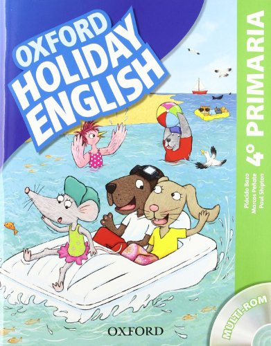 Holiday English 4º Primaria: Pack Spanish 3rd Edition (Holiday English Third Edition)