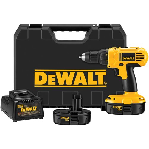 DEWALT DC970K-2 18-Volt Drill/Driver Kit