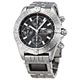 Breitling Galactic Chrono Graphite Stainless Steel Mens Watch A1336410/M512