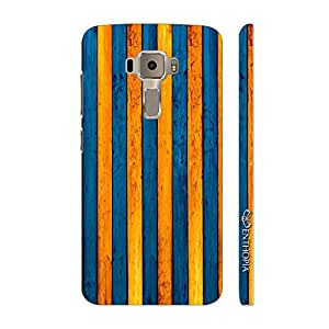 Enthopia Designer Hardshell Case Yellow To Blue Back Cover for Asus Zenfone 3 ZE552KL