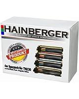 Hainberger Lot de 4 toners pour imprimante Brother DCP-9010, DCP-9010 CN, HL 3040 CN, HL 3070 CW, MFC-9120 CN, MFC-9320 CW, équivalent des modèles TN-230