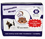 Wiki Wags Brand 12 Medium Male Dog Wr...