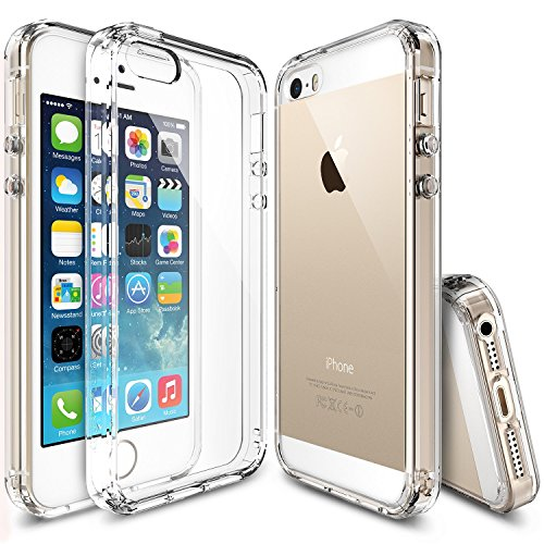 coque-iphone-se-ringke-fusion-absorption-des-chocs-tpu-bumper-protection-goutte-anti-statique-resist