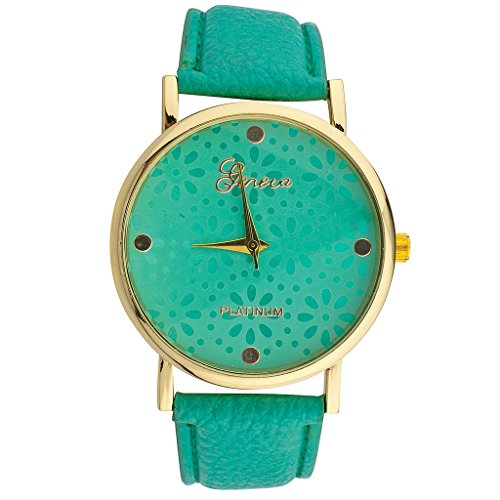 lux-accessories-green-floral-flower-bracelet-analog-sports-quartz-wrist-watch