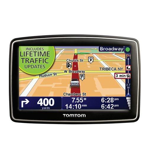 TomTom XL 335T 4.3-Inch Portable GPS Navigator (Lifetime Traffic Edition)