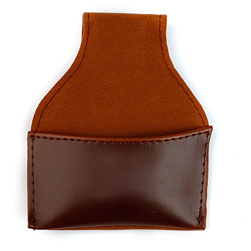 Why Should You Buy TOMOUNT Professional Brown Leather Pouch Chalk Holder for Snooker Billard Pool Cu...