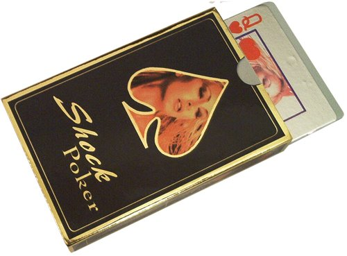 Magique Novelties Electrical Shock Playing Cards Game Gag Set - 1