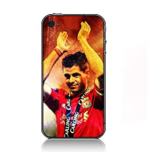 Steven Gerrard Football case for Iphone 5 black sidecover 74445 by VIC