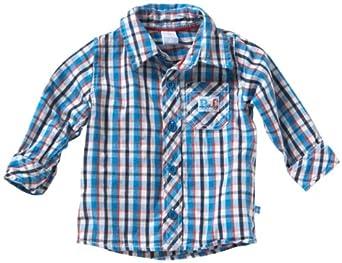 Bfc Babyface - Chemise - Bébé Garçon - Bleu-140-TR-A2 - FR : 3 mois (Taille fabricant : 62)