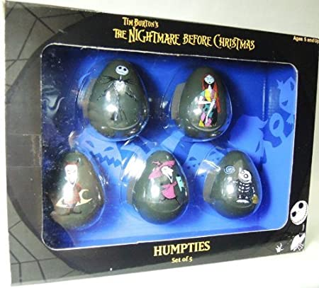 Nightmare Before Christmas Humpties Set of Wobblers by NECA (English Manual)